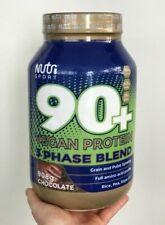 NutriSport 90+ Vegan Protein 3 Phase Blend 908g (23 Servings) - Various Flavours
