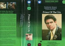 PRINCE OF THE CITY - 2 x VHS -NTSC-Warner previously viewed-Original USA release