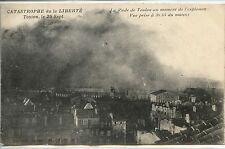 CP 83 Var - Toulon 25 sept. - Catastrophe de la Liberté - Rade à l'explosion