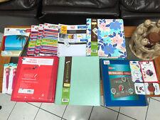 School Supplies Misc Binders, Pens, Mousepad, paper