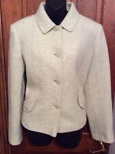 Mint Green Designer JOHN ROCHA Jacket 14 Wool Blend FREE POSTAGE