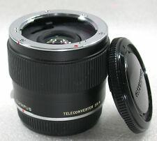 Olympus OM Teleconverter 2X-A For 100mm F2.8, 135mm F2.8/F3.5, 200mm F4/F5 ..