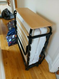 Jay-Be Revolution Single Foldable Guest bed with mattress and Quilt