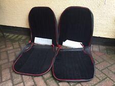 Front seat covers fit Volkswagen Tiguan VEST SHAPE VERLOUR  Red