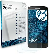 Bruni 2x Protective Film for Alcatel One Touch Pop 2 (4.5) Screen Protector