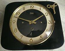 Horloge pendule formica Odo VINTAGE mécanique  années  50's