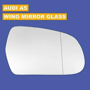 Wide angle Right side mirror Audi A5 2009-2016
