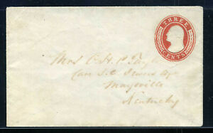 US Postal Stationery Scott U7 Entire Unused UNIQUE UPSS 10 PF Certificate 1D9 29