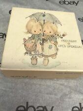 Vintage! Betsey Clark Mini Springbok Jigsaw Puzzle Friendship Is Life'S Umbrella