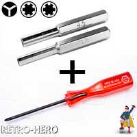 Reparatur Werkzeugset Schraubendreher Kit Set Bit Nintendo NES SNES N64 Game Boy