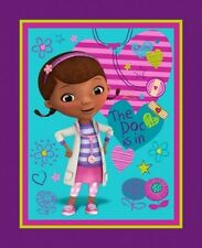 "Springs Disney Junior Doc McStuffins 58179 The Doc Is In Panel 36""x44"" COTTON"