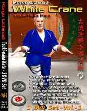 WHITE CRANE - TSUKI-NAKA KATA  Volume 1  (3 Discs) with PATRICK MCCARTHY HANSHI