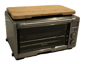 Breville Compact Smart Oven with Bamboo Cutting Board Top