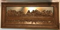 Vintage Homco Lord's Supper Last Supper Jesus Plastic Mirror Picture