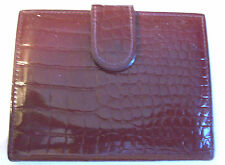 KORET ~ LADIES BROWN GENUINE LEATHER BUSINESS OR CREDIT CARD CASE/HOLDER