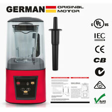 More details for powerful 3hp heavy duty commercial food blender with 1.8litre mixing jug 1800w