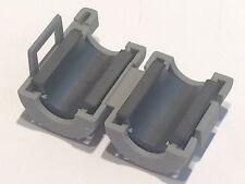 Paquete De 5 TDK Snap en medio de ferrita 7MM Abrazadera supresor de ruido de interferencia RFI blb74