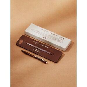 CARAN D'ACHE + LINE FRIENDS 849 Ballpoint Pen Series Brown Edition