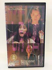 Thou Shalt Not Swear VHS, cult, horror, devils, demons, Chinese, Rare, OOP