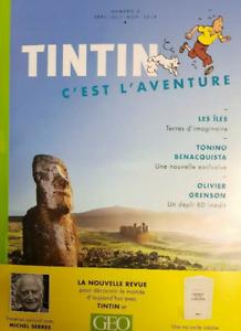 BEAU LIVRE - REVUE, TINTIN C'EST L'AVENTURE > VOLUME 2 / GEO