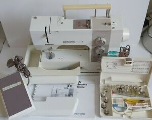 BERNINA Matic 910 Sewing Machine MADE IN SWITZERLAND Tested With Accessories