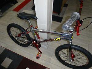 "1997 GT Powerlite Spitfire Pro Series 20"" Bmx Race Bike POLISHED Aluminum Mint!"