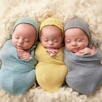 Newborn Baby Stretch Wrap Cute Photo Props Wrap-Baby Photography Props