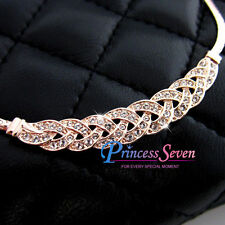 Swarovski Rose Gold Diamond Fashion Jewellery