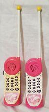 Vintage pair of Barbie Walkie Talkie Phones BE 100 1996
