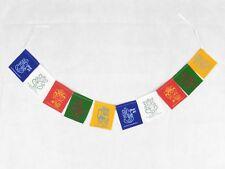 Ganesh Mantra 5 Colour Prayer Flags Fair Trade Made in India Hippy Decor