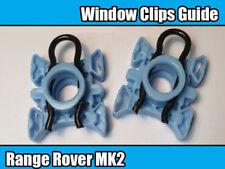 2x RANGE ROVER P38 MK2 WINDOW REGULATOR GUIDE SLIDER CLIPS SLIDING BLOCK FRONT