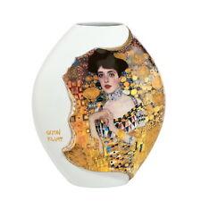 "Goebel Gustav Klimt "" Adele Bloch-Bauer Jarrón de porcelana ""reliefarbeit CON"