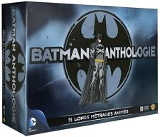 Batman Anthology DC -10DVDs &Buch , Year one, Son of, Assault on Arkham,+Buch