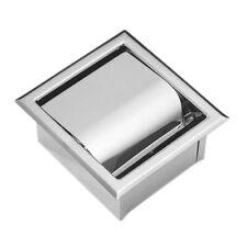 Edelstahl Einbau Toilettenpapierhalter Wand Toilettenpapierhalter, E4C4