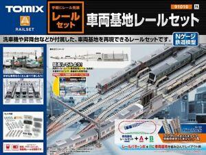 TOMIX 91016 Fine Track Rail Yard Track Set RAILSET N gauge [N scale]