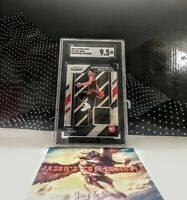 2018 Panini Prizm TRAE YOUNG Sensational Swatches #97 Rookie **SGC 9.5**  HAWKS
