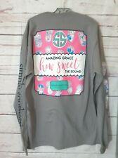 "NWT Simply Southern ""Amazing Grace"" Women's Sz. XL Long Sleeve T-Shirt"