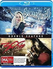 SUCKER PUNCH & 300 BLU RAY - NEW & SEALED ZACK SNYDER, EMILY BROWNING, SPARTANS