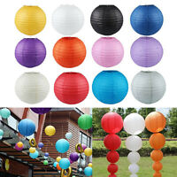"5pcs Paper Lanterns Lamp Wedding Birthday Party Decoration 6"" 8"" 10"" 12"" 14"""