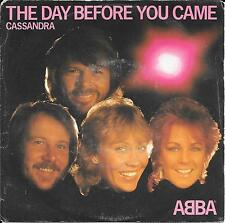 "45 TOURS / 7"" SINGLE--ABBA--THE DAY BEFORE YOU CAME--1982 ""ITALIAN PRESS"""