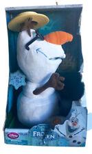 Disney Olaf 10.5 Inch Singing Plush Doll 2013 Disney Store