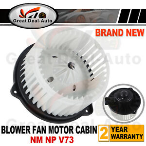 For Mitsubishi Pajero NM - NP V73 Heater Cabin Fan Motor Aftermarket Replacement
