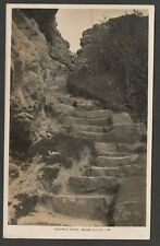 Postcard Niton nr Ventnor on Isle of Wight early view of Cripple Path RP by Kent