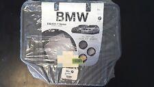 BMW 3 Series E90-91 Weather Rubber Floor Mats Rear Gray set of 2 82550412070