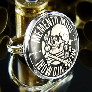 Victorian Memento Mori Skull Handmade Sterling Silver Gothic Ring