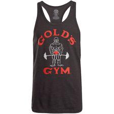 Gold's Gym Classic Joe Stringer Tank Top - Dark Gray