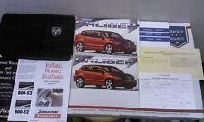 2007 Dodge Caliber Owner's Manual Set w-Case. OEM.