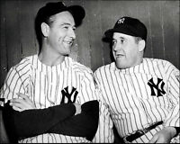 Lou Gehrig & Joe McCarthy #1 Photo 8X10