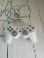 Genuine OEM Official Sony PlayStation PS1 PSOne Controller White/Gray SCPH-110