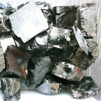 Elite Shungite Noble Stones C60 EMF Raw Rough Karelia Bulk Lot 3OZ-1 LB 25-30G